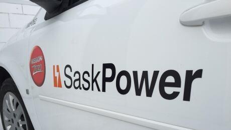 SaskPower vehicle