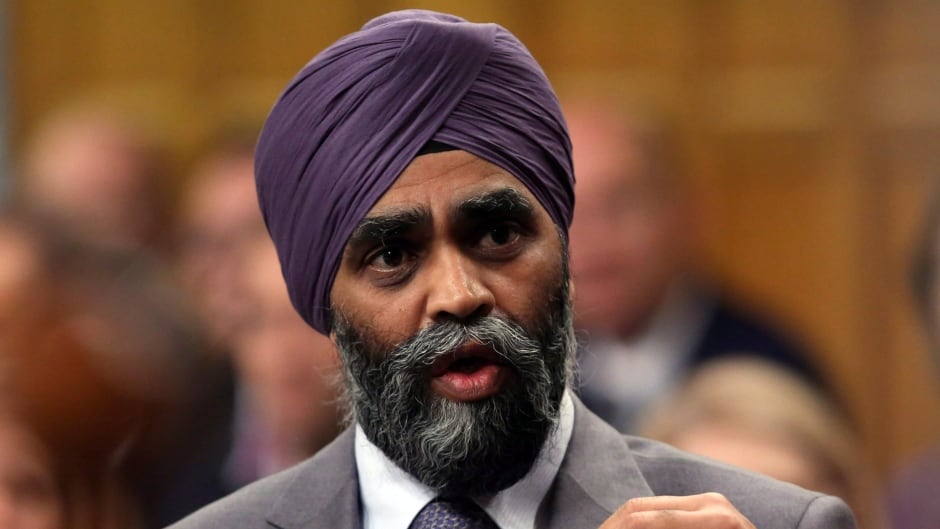 Defence Minister Harjit Sajjan says Canada is ending airstrikes against ISIS to focus on training.