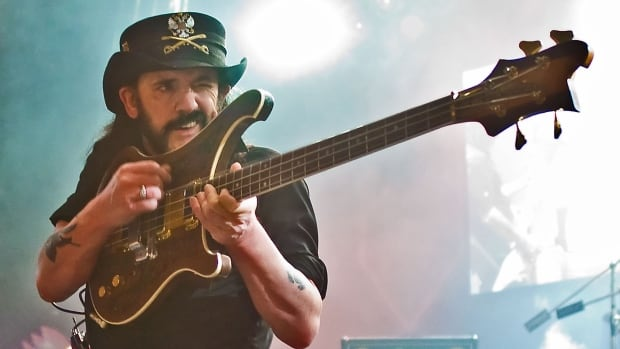 Lemmy Kilmister, seen here performing in London in 2008, formed Motörhead in 1975. The band celebrated its 40th anniversary in 2015 with a tour and musical cruise.