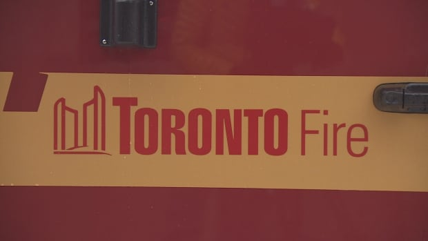 A man was seriously injured in a fire at a Moss Park apartment building on Saturday.