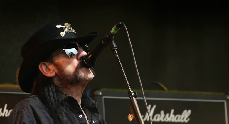 Ian 'Lemmy' Kilmister, Motörhead frontman and hard rock