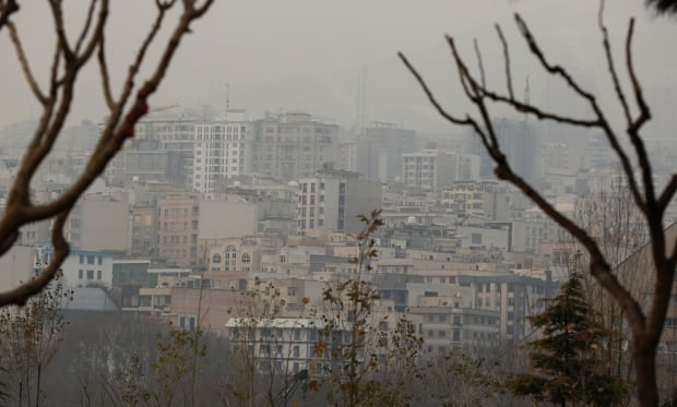 IRAN TEHRAN AIR POLLUTION