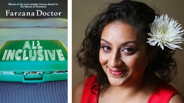 """Farzana Doctor was struggling with """"third novel blues"""" when inspiration struck as she biked home after teaching an emerging writers' group. (Dundurn Press)"""