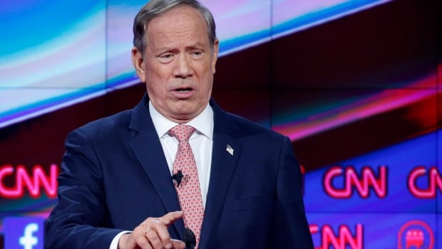Former New York governor George Pataki, seen at the CNN Republican debate on Dec. 15 in Las Vegas, has said he won't support Donald Trump if the real estate magnate wins the party's nomination.