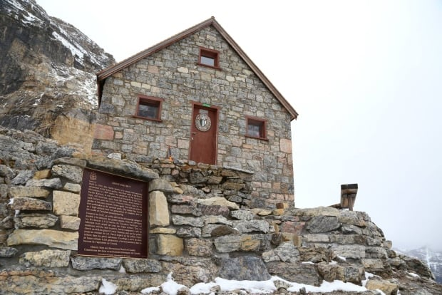 Abbot Pass Hut Alpine Club of Canada