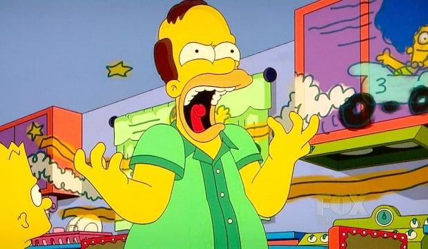 Angry Homer Simpson