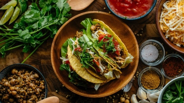 Canadian pulses - dry beans, dry peas, lentils and chickpeas - are stepping into the spotlight in 2016 as the world celebrates International Year of Pulses. Here, green lentils and chickpeas are featured in a taco recipe by chef Michael Smith.