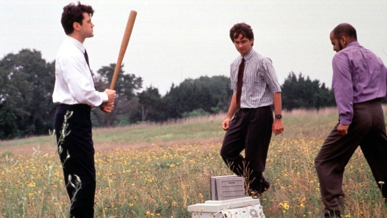 Office space machine beating