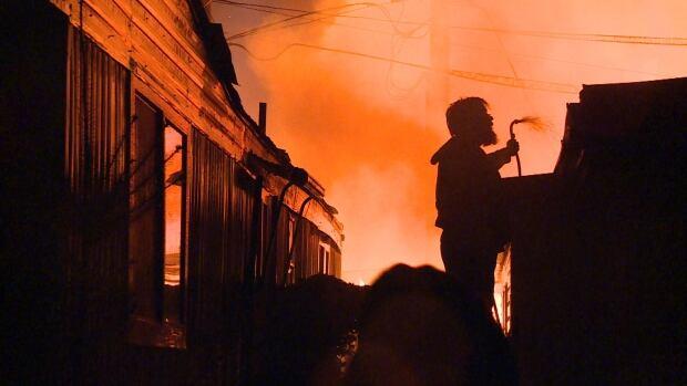 Maple Ridge trailer court fire