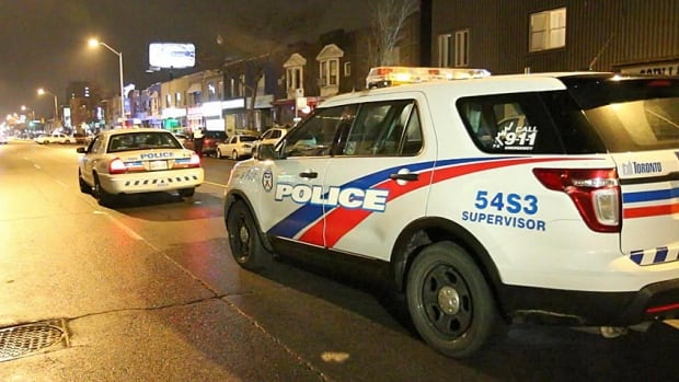 A 63-year-old man is dead after a deadly hit and run collision on Danforth Avenue last night.