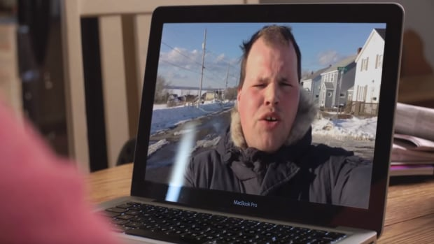 Frankie MacDonald makes a cameo in a three-episode video series about storm preparedness from Nova Scotia Power.
