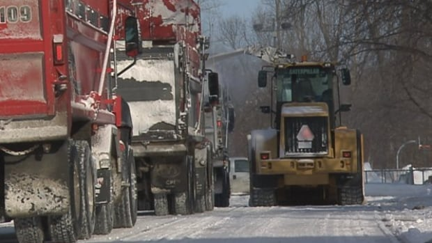 Snow-removal crews will have time off starting Thursday evening for New Year's Eve.