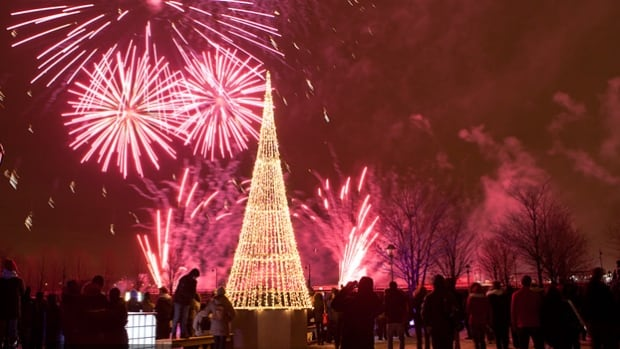 New Year's Eve celebrations at Montreal's Old Port are always a popular draw for tourists.