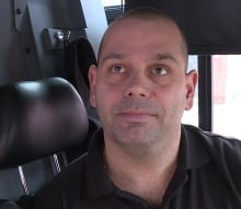 Fredericton bus driver Michael Dubee