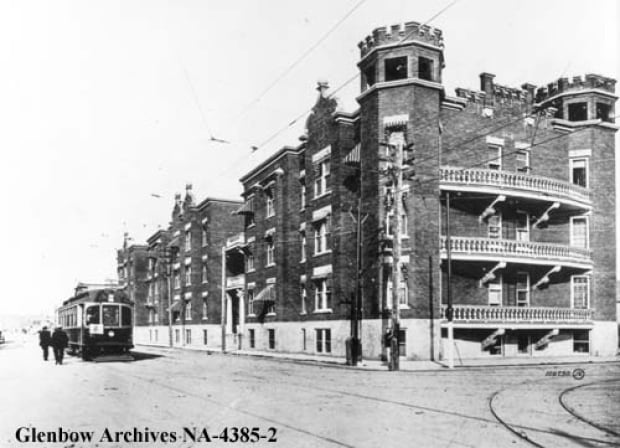 Devenish apartments Calgary 17th Ave 1912 Glenbow Archives