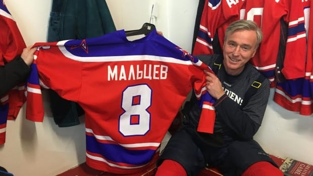 For 30 years, Paul Heneghan and other St. John's hockey players meet to recreate the famous 1975 game between the Habs and the Red Army.