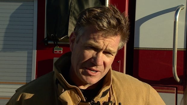 Calgary Fire Department Acting District Chief Martin Keefe