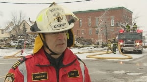 Moncton fire chief Eric Arsenault