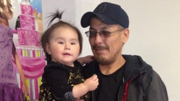 Hector Sinclair, seen with his granddaughter, died after being stabbed.