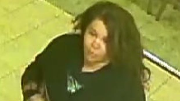 Police are looking for the woman in this photo. They believe she robbed a restaurant on Henderson Highway in May.
