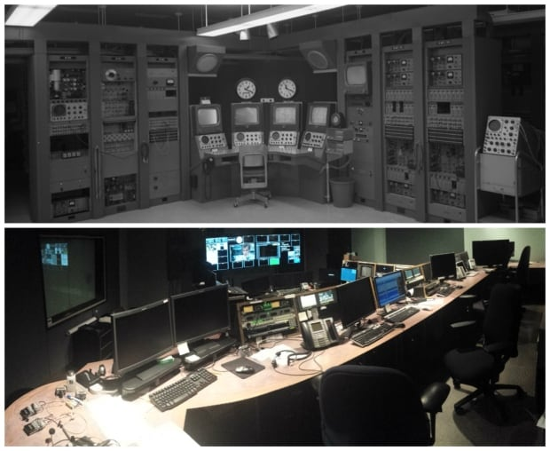 CBC Calgary equipment 1960s and 2010s