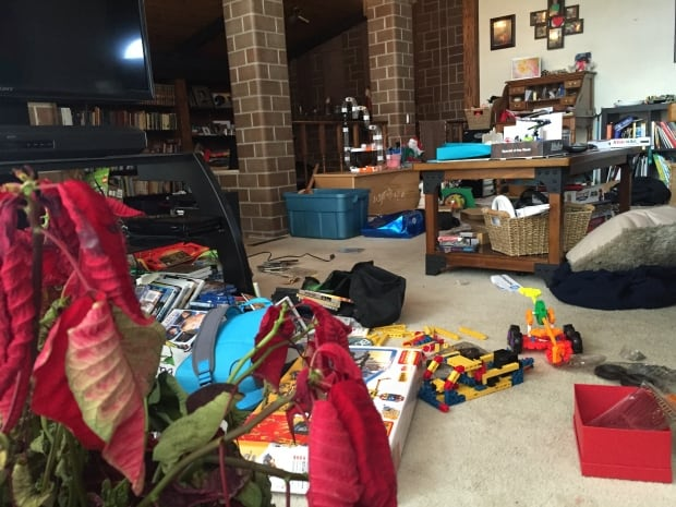 10 year old's things ransacked