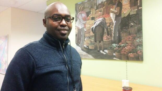 Chris Binagana says Montreal makes him feel free to start a new life.