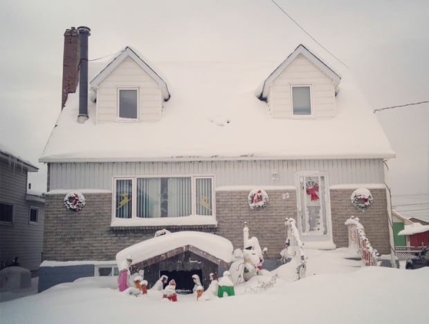Leo Kane's house in Sault Ste. Marie