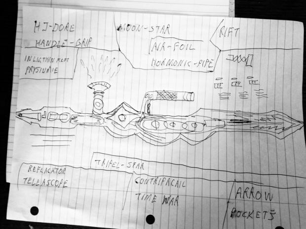Ryan Kane blueprint sketch
