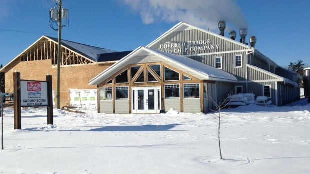 The Covered Bridge Potato Chip Company also has an expanded tourism viewing area, gift shop and washroom facilities.