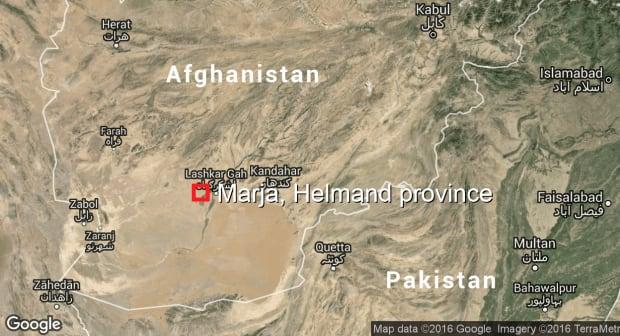 Marja, Afghanistan