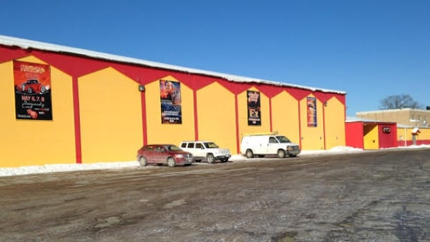 The Coliseum, foreground, and adjoining Capital Exhibit Centre are located on the New Brunswick Exhibition grounds. which is perpetually leased from the City of Fredericton.