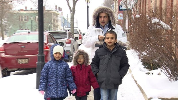 The Al Rashdan family, refugees from Syria, is just starting to learn about life in Charlottetown,  and how to weather the Canadian winter.