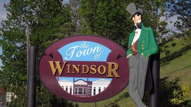 """Paul Beazley, the mayor of Windsor, N.S., says the town started talking about making the 'birthplace of hockey"""" part of its official logo three months ago."""