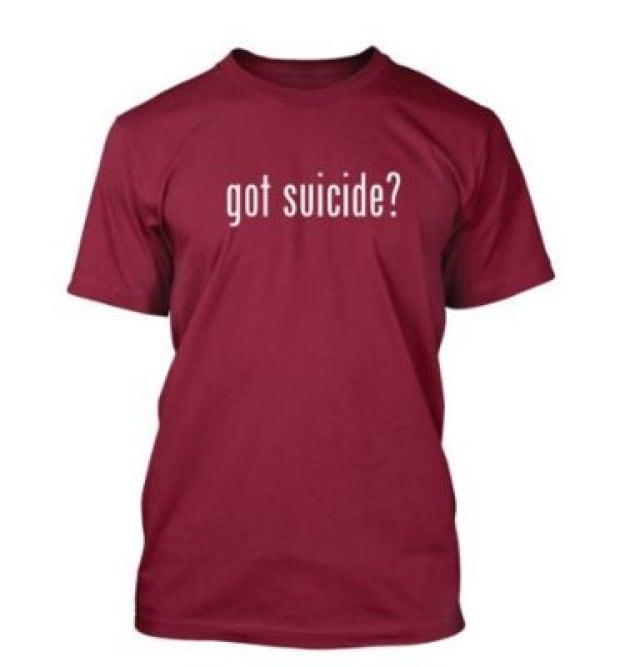 Amazon Got Suicide shirt