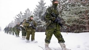 military winter exercise