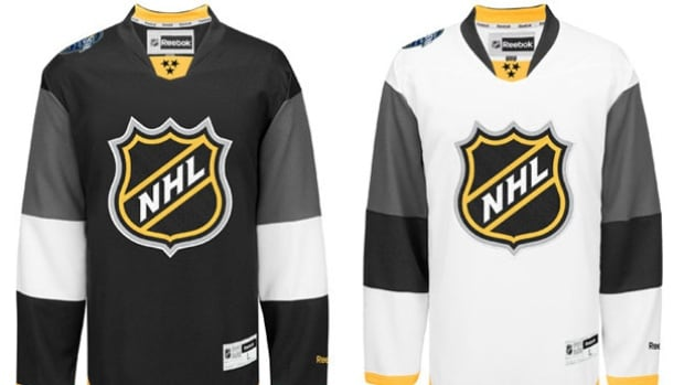 The jerseys for the 2016 NHL All-Star Game in Nashville, Tenn., contain several features meant to pay tribute to the host city.