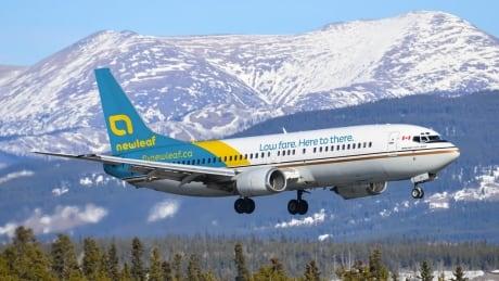 NewLeaf Airline plane