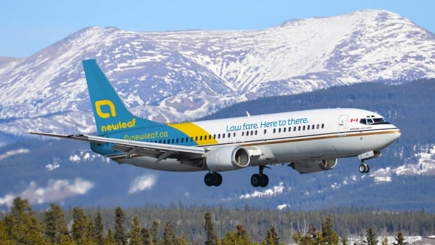 NewLeaf will have a fleet of 737s operating out of seven Canadian airports starting in February 2016.