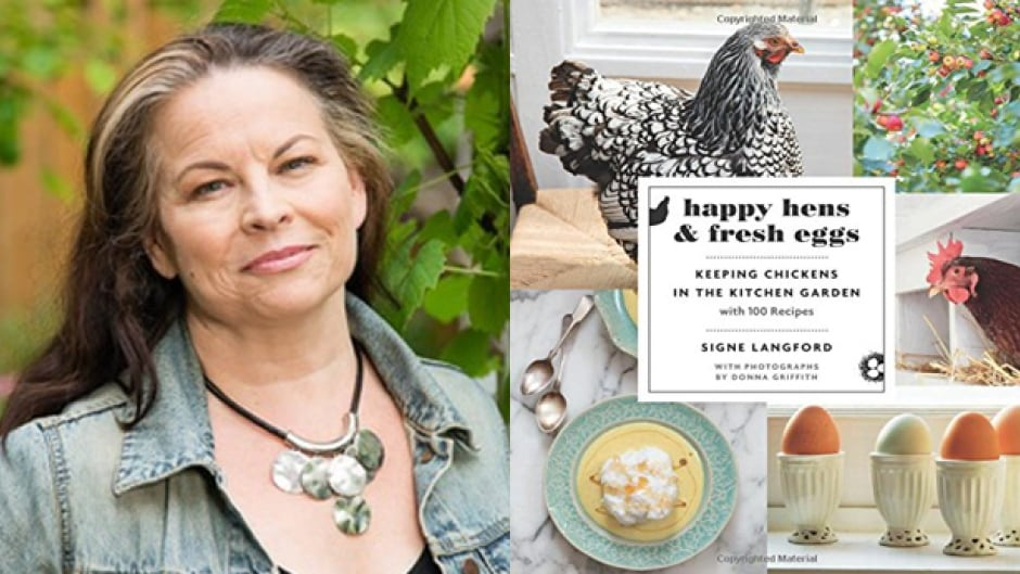 Signe Langford shares her favourite egg recipes with Shelagh Rogers on The Next Chapter.
