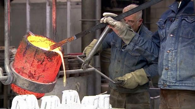 """Lost wax"" bronze casting"