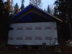 Grandejambe cabin Wood Buffalo Park