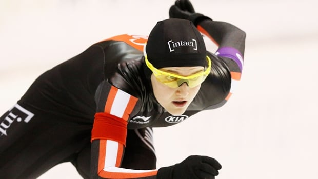 Canada's Heather McLean won her third national title in the women's mass start on Wednesday at the Canadian long track championships.