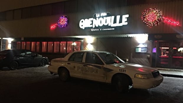 Quebec City police were called to the scene around 2:45 a.m. and found the injured man. His death was confirmed at the hospital.