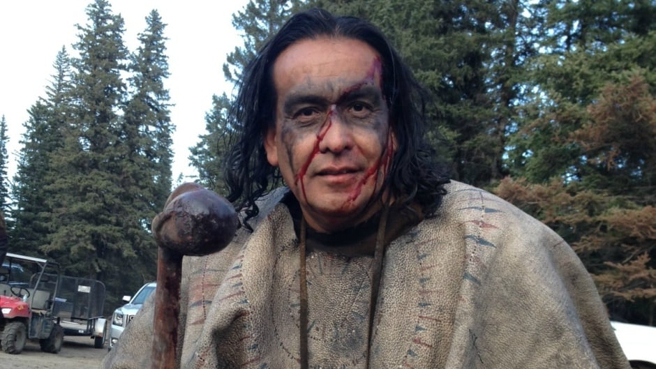 Craig Falcon acted as the cultural advisor for The Revenant and ended up taking on several roles in the film.