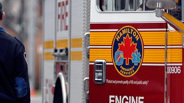The Hamilton Fire Department say they responded to a call around 2:59 p.m. of a yellow-like gas coming from Ruetgers Canada at 725 Strathearne Ave. N.