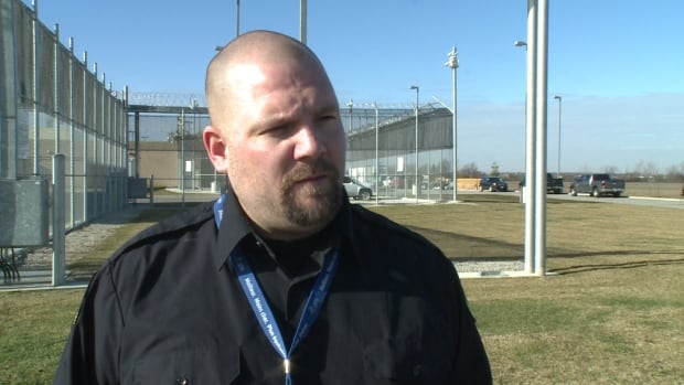 Randy Simpraga, the president of OPSEU Local 135, says that government managers have 'no business' running the province's jails.