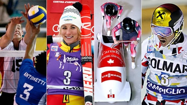 This weekend's Road to the Olympic Games show features action from across the globe in alpine skiing, volleyball and bobsleigh.