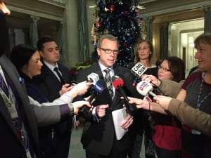 Brad Wall weighs in on jail food