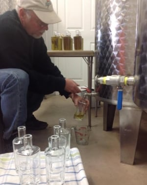 Mike Beamish makes absinthe